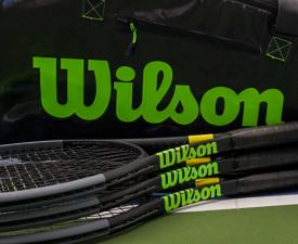wilson bag with racquets